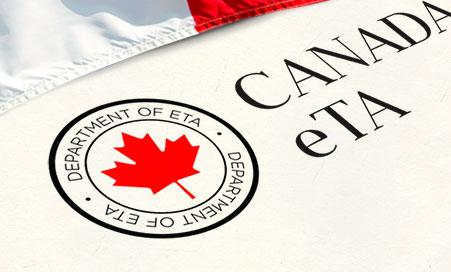 Visto eTA para o Canadá