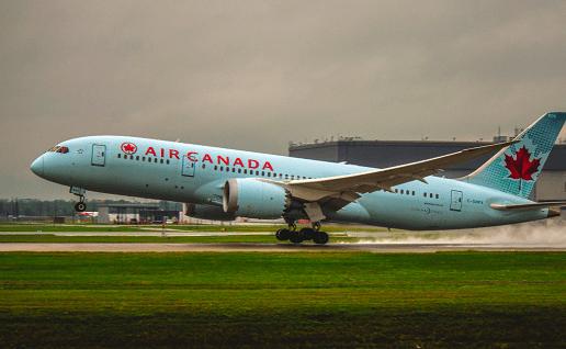 Air Canada retorno dos voo