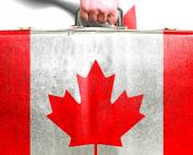 Controle de viagem para o Canadá