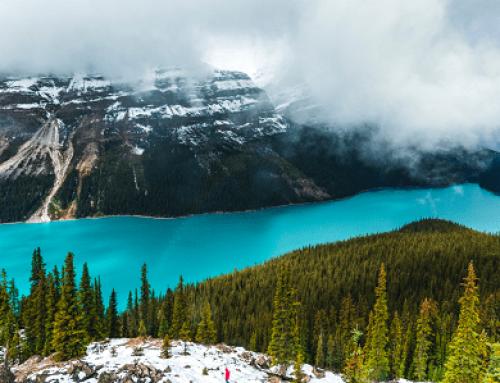 Lago Peyto no Canadá